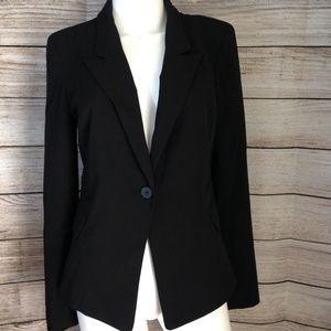 New York And Company Women's Black Blazer Size 6
